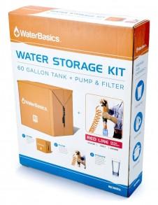 WaterBasics™ 120 gal. Emergency Water Virus filter kit