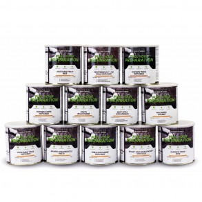 Fuel Your Preparation Emergency Food Storage Freeze Dried Food - 3 Months Standard Pack
