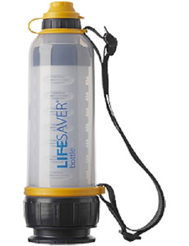 Lifesaver Bottle 4000L,  Filtration to* 0.015 microns