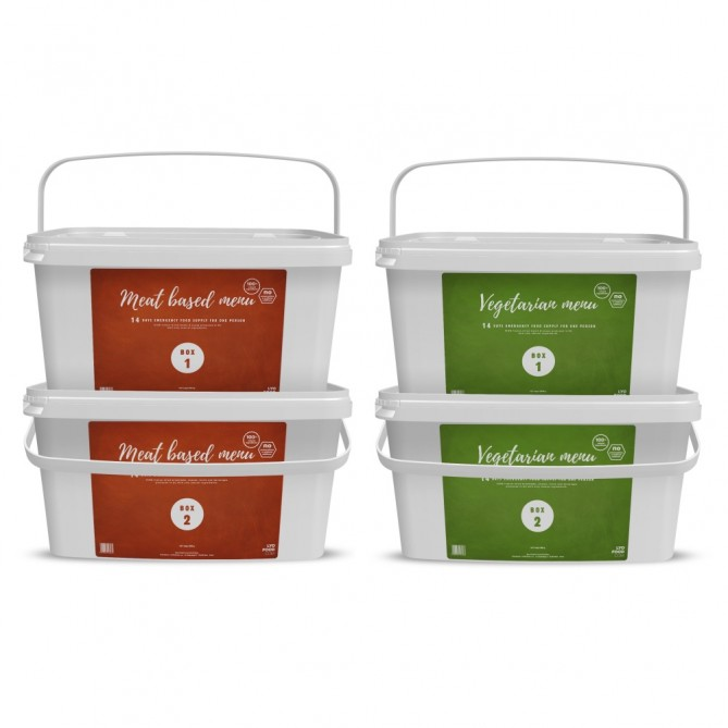 1 Month 'Complete Natural' Emergency Food Pack - FULL RANGE (ANTICIPATED 2 WEEK SHIPPING)