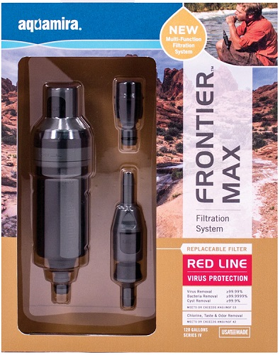 Aquamira MAX Virus Water Filter