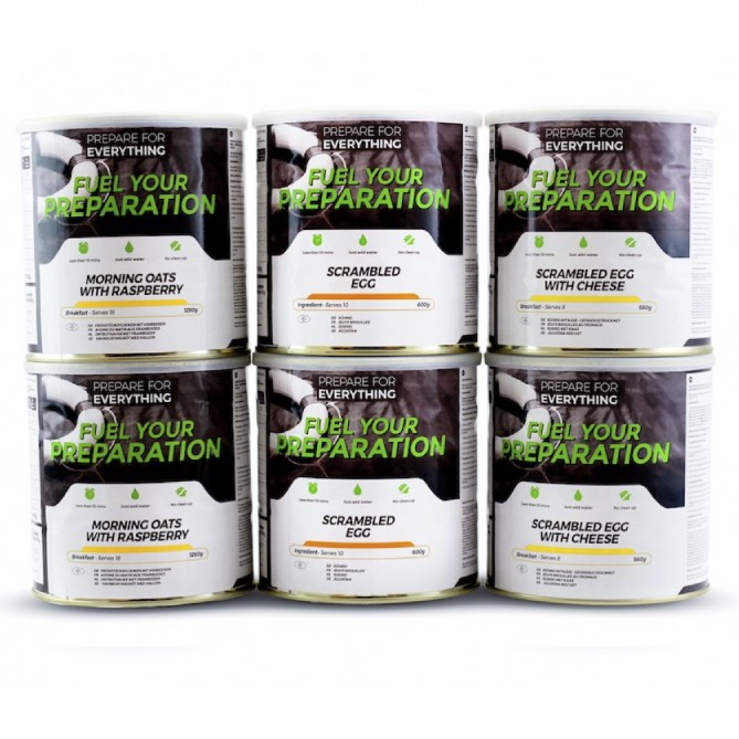 Breakfast Fuel Your Preparation Emergency Food Pack Small