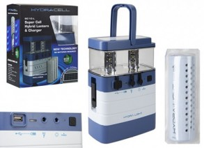 HydraCell Triple Cell Hybrid Lantern and Charger