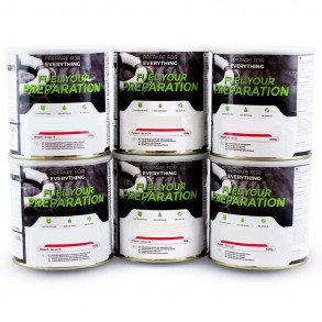 Fuel Your Preparation Emergency Food Storage Freeze Dried Food - Gluten Free Pack
