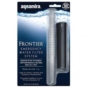 Aquamira Frontier Emergency Water Filter