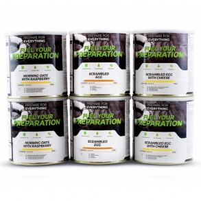 Fuel Your Preparation Breakfast and Dessert (6 tins)